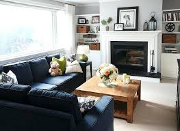 navy blue furniture living room. Navy Blue Sofa Refined Design Living Rooms Sectional Family Room Furniture Futon Bed