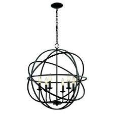 forged lighting summerland ca. baitz 6-light globe pendant forged lighting summerland ca s