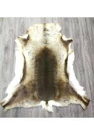 area rug carpet real reindeer deer hide area rug carpet area rug carpet cleaning vaughan