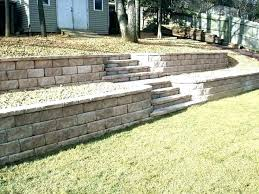 retaining wall garden backyard retaining wall ideas retaining wall ideas for sloped backyard inexpensive retaining wall