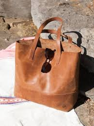 outstanding leather serra tote bag idea