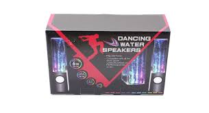 speakers in box. dancing water usb powered music box speaker speakers in