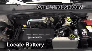 buick encore 2014. how to jumpstart a 20132016 buick encore 2014 14l 4 cyl turbo