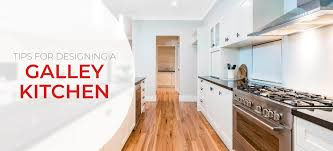 It became the first place we meet. Galley Kitchen Layout Ideas Design Tips Inspiration