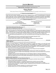 Restaurant General Manager Resume Restaurant General Manager Resume Resumes Template Microsoft Word 57