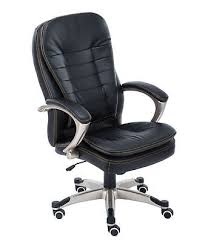desk chair back. Modren Chair WestWood Computer Executive Office Chair PU Leather Swivel High Back OC01  Black Intended Desk