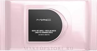 <b>M.A.C</b> Gently Off Wipes + Micellar Water - <b>Салфетки для</b> снятия ...