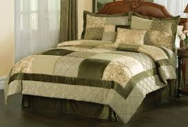 olive green comforter set green bedding sets queen garden comforter in and king also 1