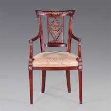 Armlehnen Stuhl Empire - Esszimmer Stuhl