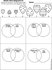 Sorting 2d Shapes Venn Diagram Ks1 Math Worksheets Shapes At Enchantedlearning Com