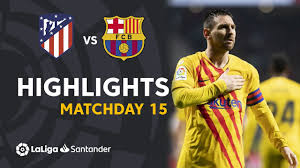 Atletico Madrid -Barcellona 0-1. Gol e Highlights