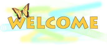 Welcome clipart and butterfly - WikiClipArt