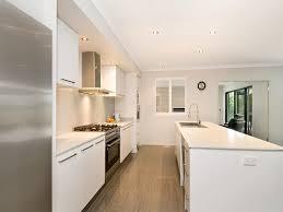modern galley kitchen design. Modern Galley Kitchen Design \u2014 Cabinets : Best Within