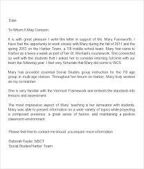 Work Recommendation Letter Recommendation Letter For Social Worker Sample Com Of Mi Reference