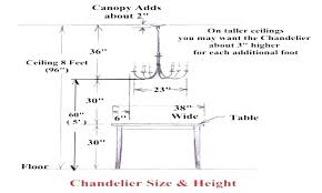 chandelier height above table chandelier height from table correct height measurements height to hang chandelier over