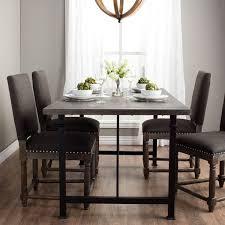 heritage brands furniture dining set big. Carbon Loft Renate Dining Table Heritage Brands Furniture Set Big