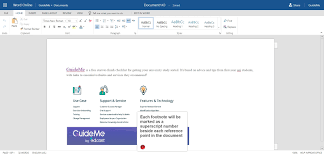 O365w27 How To Insert A Footnote In Word Online A Guide By Myguide