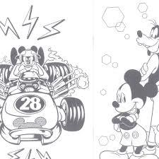 Amazon ミッキーマウスとロードレーサーズ B5ぬりえ ぬりえ