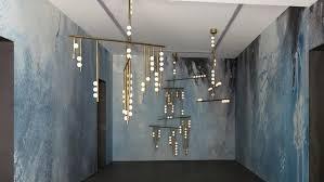 adelman chandelier a creation drop chandelier in brass and hand blown white glass replica lindsey adelman