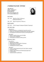 How To Do Resumes For A Job 60 how make c v for the job apply teacher pic points of origins 40
