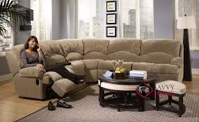 milan true with recliner by savvy reclining sectional sleeper sofa dark modern elegant circle coffee table reclining sleeper sofa i56
