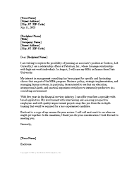 Fresh Idea Consulting Cover Letter Sample       Vntask com