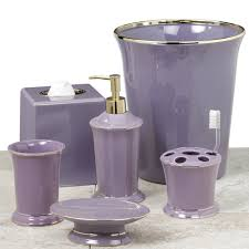Purple Bathroom Accessories Set All Products Bath Bathroom Accessories Bathroom Accessory