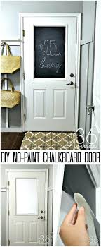 Chalkboard Kitchen Wall Old Door Chalkboard Pbcedaorg