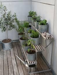 best soil balcony herb garden ideas