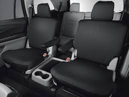 genuine oem honda pilot 2nd second row seat cover elite models 2016 2019 covers