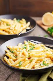 one pot pasta with lemon garlic er