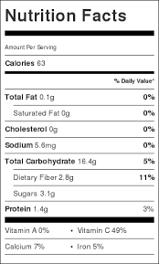ernut squash noodles nutrition facts