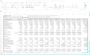 Profit Projections Template Projection Sheet Template Revenue Forecast Excel Free