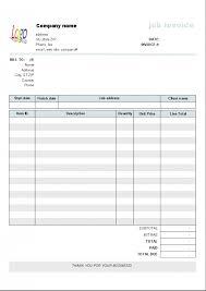 Billing Form Template Simple Invoiceorms Templates Resumereeillableorm Pdf Basic Template