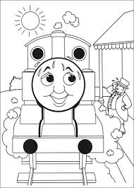 Small Picture Thomas the Tank Engine Coloring Pages 7 Coloring Kids