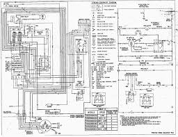 Goodman air handler wiring diagram furnace thermostat in