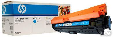 Тонер-<b>картридж HP CE741A</b> к HP LJ CP5220, cyan, ресурс 7300 ...