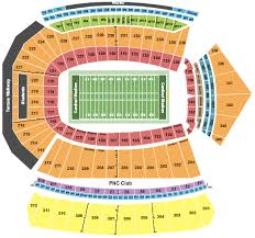 Uofl Football Stadium Seating Chart Cardinal Stadium Seating Chart Louisville