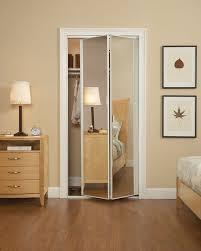 incredible mirrored bifold closet doorirror bifold doors closet d throughout inspiration