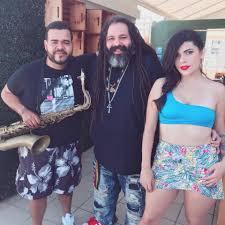 Image result for imagen de natalia lugo y gomba jahbari en el viva beach club