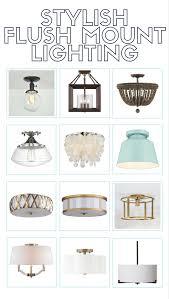 lighting options. Stylish Flush Mount Lighting Options E