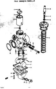1973 suzuki ts250 oem parts babbitts suzuki partshouse carburetor ts250k