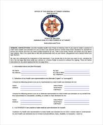 9+ Medical Power Of Attorney Forms - Free Sample, Example, Format ...