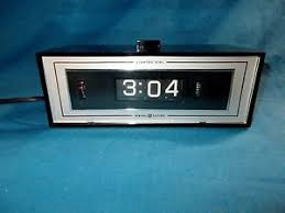 Rotating Numbers Vintagegeneral Electric Rotating Numbers Alarm Clock Lighted Dial