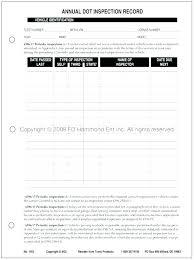 Vehicle Service Checklist Template