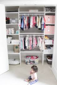 7 tips for organizing baby s closet