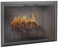 glass fireplace doors with fireplace doors design specialties brookfield custom made glass door