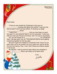 Love Letter Template Word Delectable Template For Santa Letter
