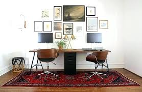 person office layout. Two Person Office Layout Desk Home With Furniture Decorations 8