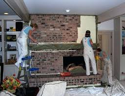 colors to paint a fireplace painting fireplace brick paint ideas for fireplace wall